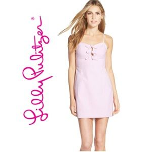 Lily Pulitzer Petra Seersucker sheath Dress size 4